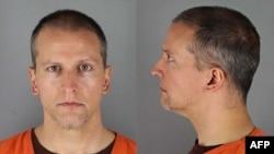 Derek Chauvin, polisi Minneapolis yang dituduh melakukan pembunuhan tingkat dua dalam kematian George Floyd.
