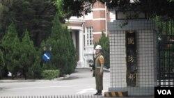 台灣國防部(美國之音申華拍攝)