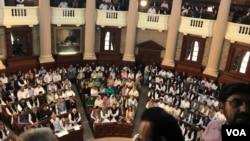 پنجاب اسمبلی کے اجلاس کا ایک منظر