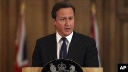 데이비드 캐머런 영국 총리 (자료사진)