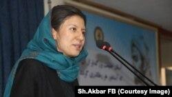 شهرزاد اکبر، رییس کمیسیون حقوق بشر افغانستان