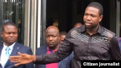 Walter Magaya Leaving Court In Harare After Aguma Case