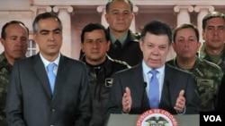 Pinzón advirtió que buscará desmantelar a los grupos armados ilegales y anunció un nuevo plan de lucha en un plazo de 60 días.