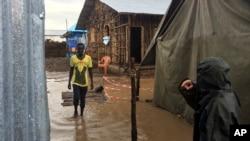 Campo de refugiados em Gambella, Etiópia