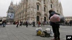 میلان، ایتالیا، اکتبر ۲۰۱۲ (عکس از آرشیو)