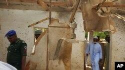 Мечеть, пошкоджена в результаті самогубної атаки