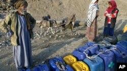 ګڼ افغانان د څښاک پاکو اوبو ته لاسرسی نه لري