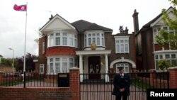 영국 런던의 북한 대사관. (자료사진)
