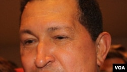 """Chávez dijo que de ocurrir un conflicto militar, se desataría lo que llamó la """"guerra de los cien años""""."""