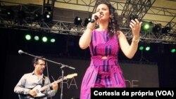 Mayra Andrade, cantora cabo-verdiana