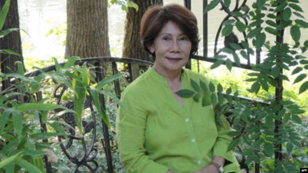 Bà Đặng Mỹ Dung (Yung Krall), cựu điệp viên CIA gốc Việt, tác giả cuốn 'Ngàn giọt Lệ rơi'.