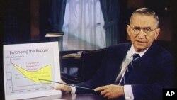Ross Perot, 16 oktòb 1992. (AP Photo, Dosye).