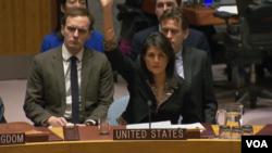 نیکی هیلی، سفیر ایالات متحده آمریکا در سازمان ملل