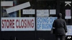 Zatvorena radnja u Ilinoisu, 13. maj 2020 ( Foto: AP/Nam Y. Huh)