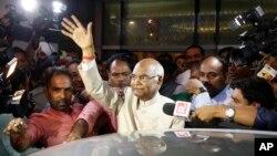 20일 실시된 인도 대통령 선거에서 최하층민 출신인 람 나트 코빈드 후보가 당선됐습니다.