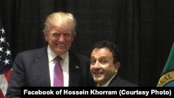 حسین خرم، یکی از مشاوران شرق میانه در مبارزات انتخاباتی دونالد ترمپ، رئیس جمهور منتخب امریکا است.