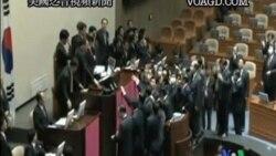 2011-11-22 美國之音視頻新聞: 南韓通過美韓自由貿易協議