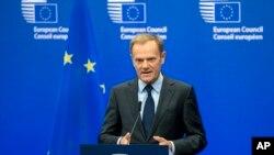 Ketua Dewan Uni Eropa Donald Tusk (Foto: dok).