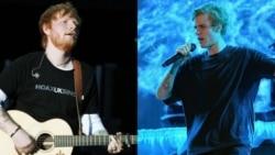 "Top Ten Americano: Ed Sheeran e Justin Bieber ""chutam"" novo som"