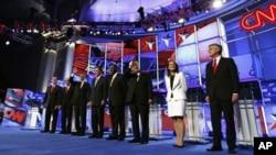 Последна тв-дебата на републиканските претседателски кандидати