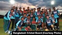 بنگلہ دیش کی انڈر 19 فاتح کرکٹ ٹیم