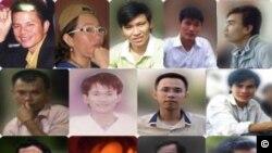 17 nhà hoạt động Công giáo trẻ có liên hệ với Dòng Chúa Cứu Thế bị bắt vì bị tố cáo vi phạm các điều luật như 'hoạt động nhằm lật đổ chính quyền nhân dân' và 'tuyên truyền chống nhà nước'