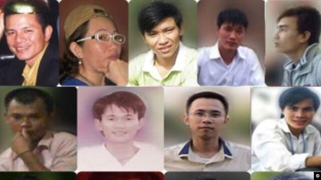17 nhà hoạt động Công giáo trẻ có liên hệ với Dòng Chúa Cứu Thế bị bắt vì bị tố cáo vi phạm các điều luật như 'hoạt động nhằm lật đổ chính quyền nhân dân' và 'tuyên truyền chống nhà nước'.