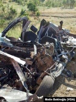 Lice'deki kaza sonrası