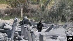 اسرائیلی جنگی طیاروں کا غزہ پر حملہ، دو افراد ہلاک