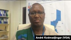 Kinyanjui Boniface Macharia, administrateur principal chargé de la protection du HCR au Tchad, le 2 octobre 2019. (VOA/André Kodmadjingar)