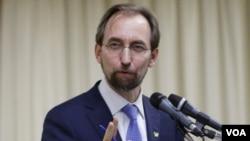 聯合國人權事務高級專員扎伊德拉阿德侯賽因