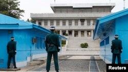 南北韓分界的板門店。(資料照)