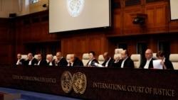 ICJ ႏိုင္ငံတကာတရား႐ုံးမွာ ဂန္ဘီယာ ျမန္မာကိုအမႈစြဲတင္