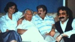 غلامحسین ساعدی همراه با بزرگ علوی، دو نویسنده مطرح ایرانی در تبعید مردند