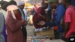 Les vendeurs à la sauvette africains à New York