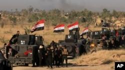 نیروهای عراقی اکنون برای تصرف شهر موصل آمادهگی میگیرند