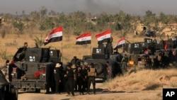 Dakarun Iraqi da suka kewaye birnin Fallujah