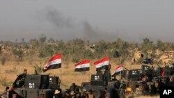 عراقي ځواکونو د فلوجه بيرته نيولو دپاره عمليات پېل کړي دي .