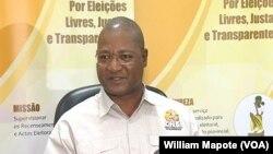Paulo Cuinica, porta-voz da Comissão Nacional de Eleições, Moçambique