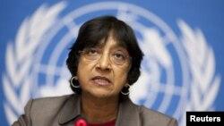 BM İnsan Hakları Baş Komiseri Navi Pillay