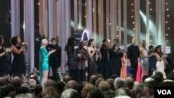 群星璀灿的诺贝尔和平奖音乐会(美国之音王南拍摄)