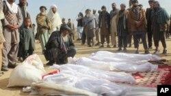 تلفات وارد شده به غیر نظامیان در ولایت کندز