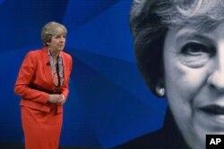 Primera ministra británica Theresa May.