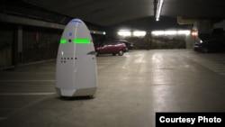 K5 security robot စက္ရုပ္အေစာင့္။