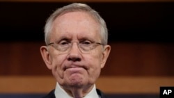 FILE - Senate Majority Leader Harry Reid.