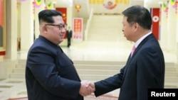 金正恩晤中共中联部长 承诺加强两国关系