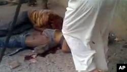 敘利亞政府軍被指控屠殺平民。