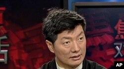 美国之音焦点对话专访西藏流亡政府总理(资料照片)