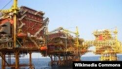 Giàn khoan dầu của công ty ONGC Videsh.