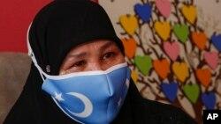 Çin'den Türkiye'ye kaçan Uygur Müslümanı Bumeryem Rozi